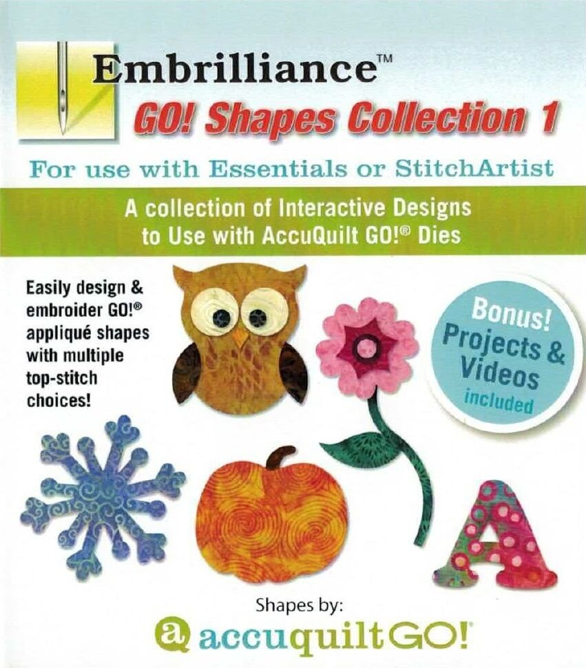 EMBRILLIANCE GO SHAPES COLL 1