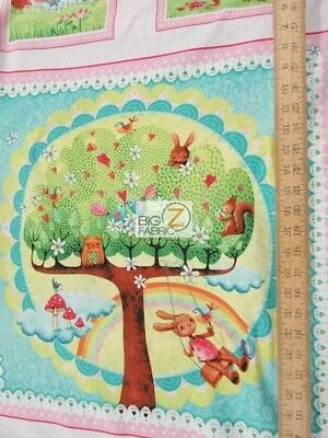 Rainbow Woodland Happiness - Panel