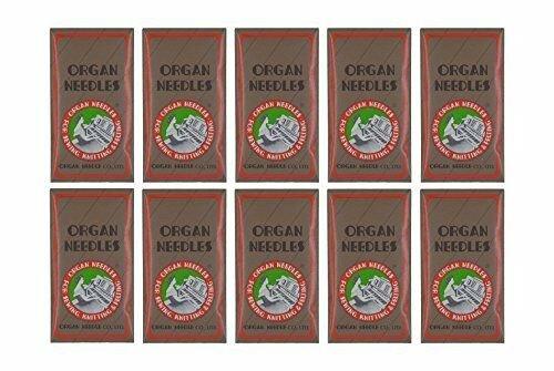 Organ Flat Shank 15X1 Regular/Universal Needle TITANIUM Size 90/14 100PK
