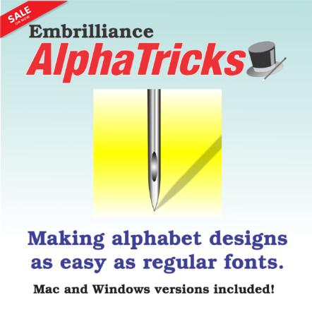 Embrilliance Alpha Tricks Software - BLI-AT10