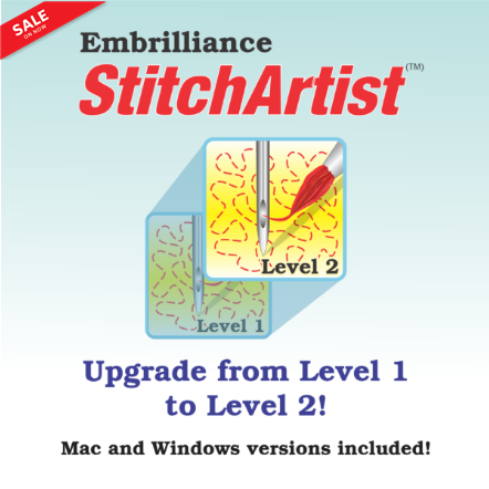STITCH ARTIST UPGRADE L1 TO L2 EMBRILLIANCE STITCH ARTIST