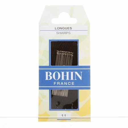 Bohin Sharps Needles Size 11 20ct - 00223