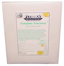 Floriani Template Tearaway 8.5 x 11 25 printable sheets - FTT