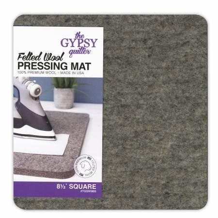 Wool Pressing Mat 8-1/2 x 8-1/2 x 1/2 Thick - TGQWM85