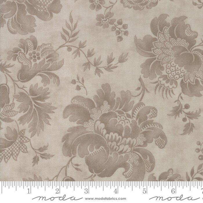 108 Rue 1800 Wide Cotton Sateen Quilt Backing by 3 Sisters for Moda - Dove