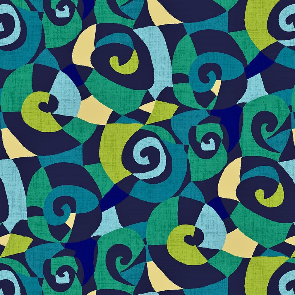 *On Sale!* 108 Sonia Wide Quilt Backing by Chelsea Design Works - Peacock