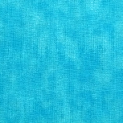 1+3/4 Yard Remnant of 108 Value Collection Marbled Wide Quilt Backing - Blue Atoll