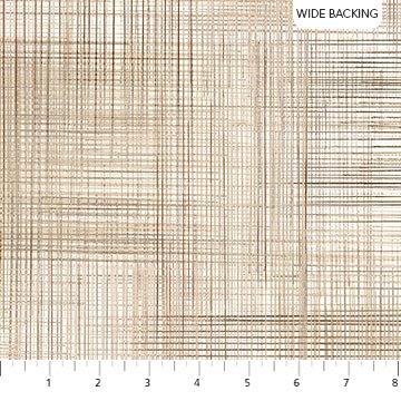 108 Dream Weaver Wide Quilt Backing by Deborah Edwards for Northcott Studio - Tan