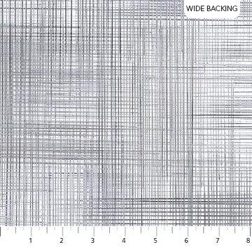 108 Dream Weaver Wide Quilt Backing by Deborah Edwards for Northcott Studio - Gray