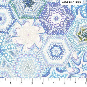 106/108 The Road Home Wide Quilt Backing by Ira Kennedy for Northcott - Multi