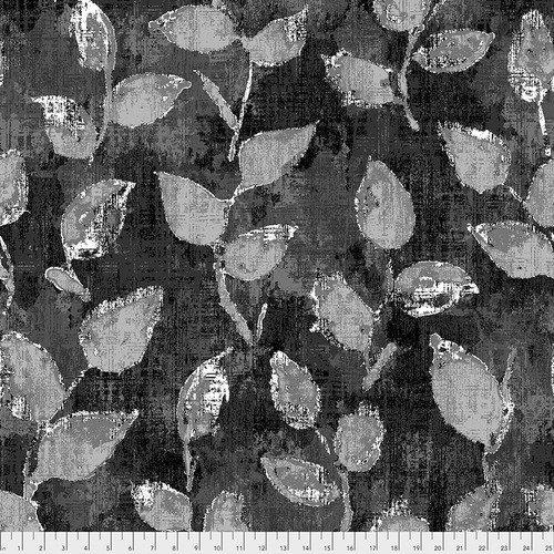 108 Underwood Wide Quilt Backing by FreeSpirit Fabrics - Black