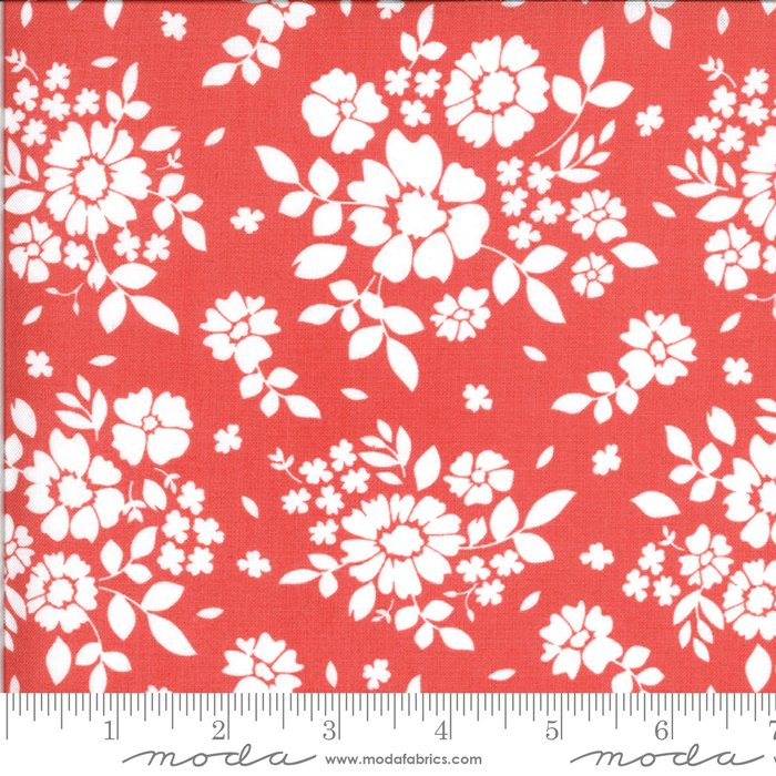 108 Canning Day Wide Cotton Sateen Quilt Backing by Corey Yoder for Moda - Strawberry