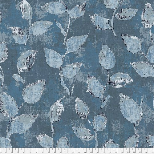 108 Underwood Wide Quilt Backing by FreeSpirit Fabrics - Teal