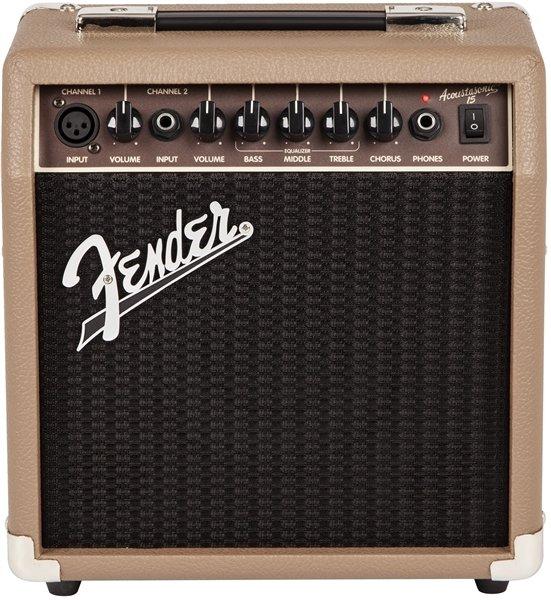 Fender Acoustasonic 15 15W 1x6 Acoustic Combo Amp