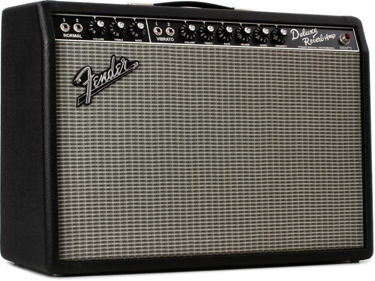Fender '65 Deluxe Reverb 1x12 22-watt Tube Combo Amp - Black