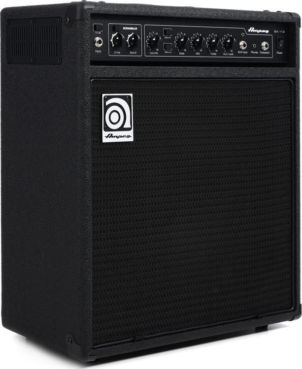 Ampeg BA-112v2 1x12 75-watt Bass Combo Amp with Scrambler