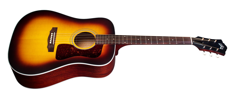 Guild D-40 Traditional Acoustic Guitar Antique Burst W/ Case