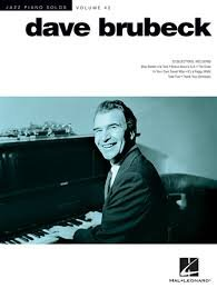 DAVE BRUBECK Jazz Piano Solos Series Volume 42