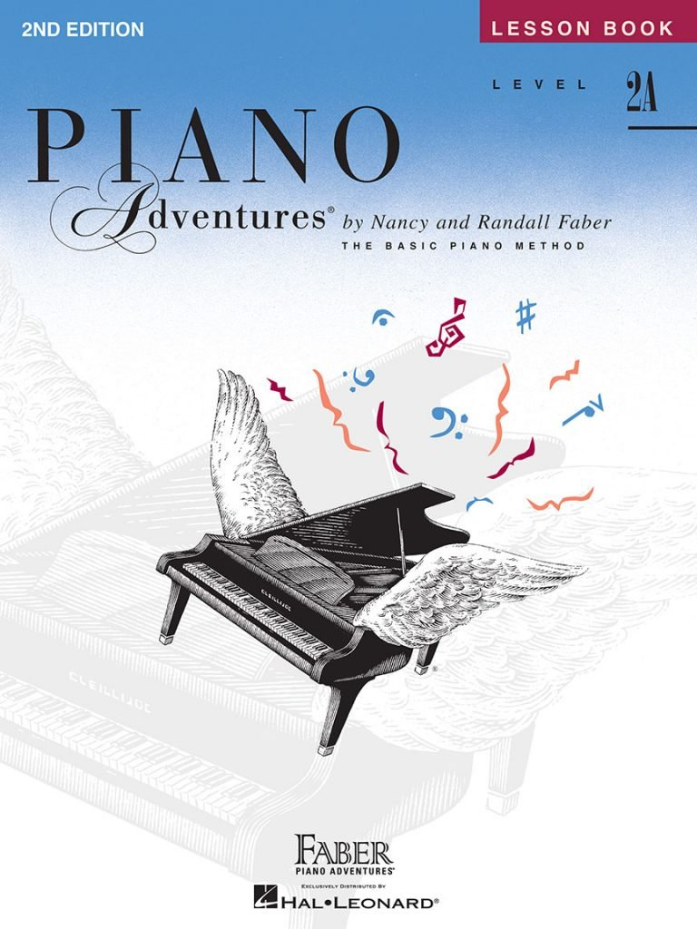 Faber Piano Adventures Level 2A Lesson Book 2nd Edition