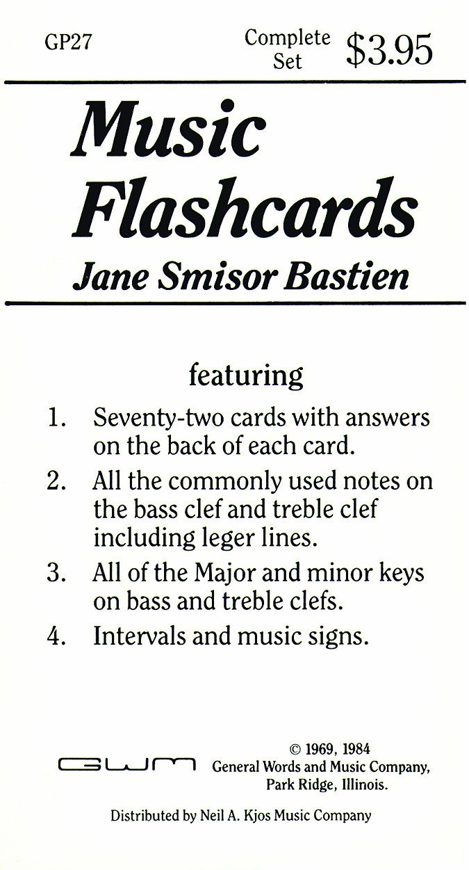 Music Flashcards Complete Set