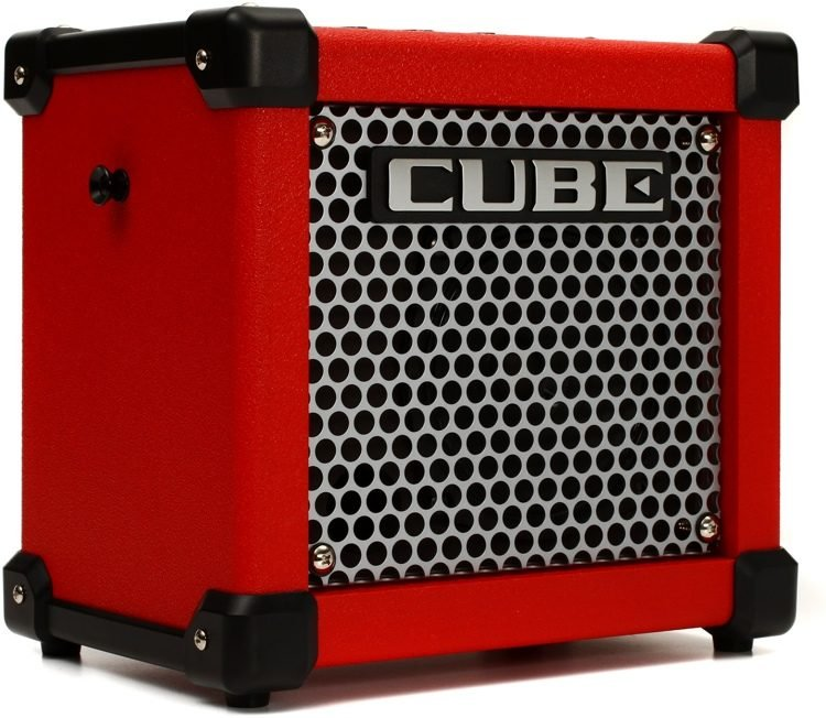 Roland Micro Cube GXR 3-watt 1x5 Battery Powered Combo Amp - Red