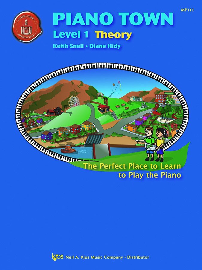 Piano Town, Theory, Level 1