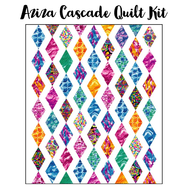 Aziza Cascade Quilt Kit (61 x 71.5)