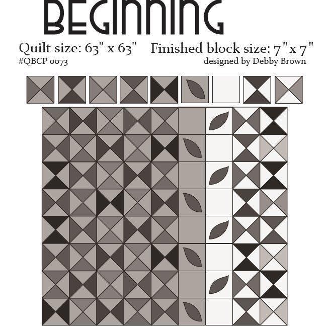 Beginning Pattern   Quilt Basket Cutie Collection