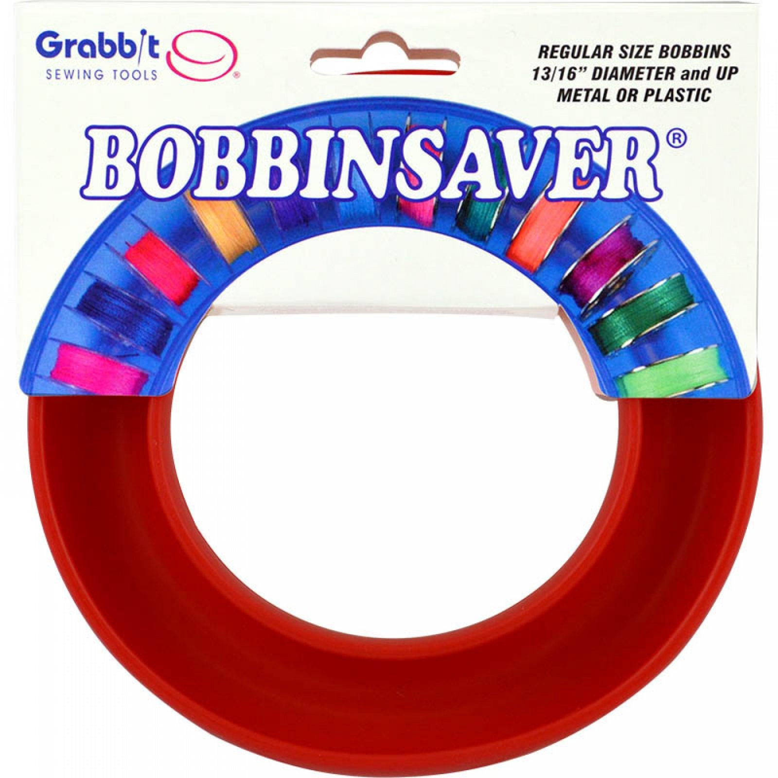 Red BobbinSaver Bobbin Holder