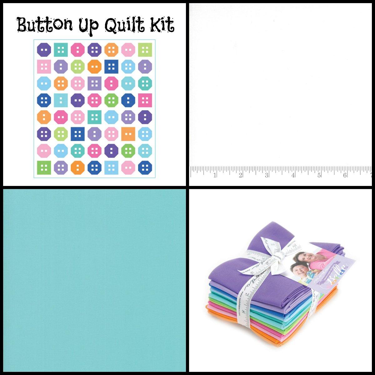 Button Up Quilt Kit (61.5 x 70)