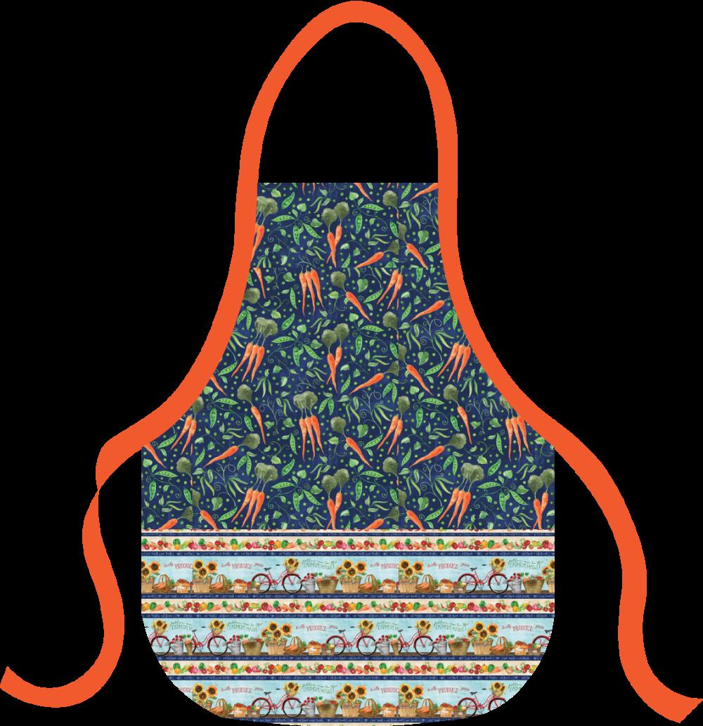 Basic Apron Kit - Carrots & Peas