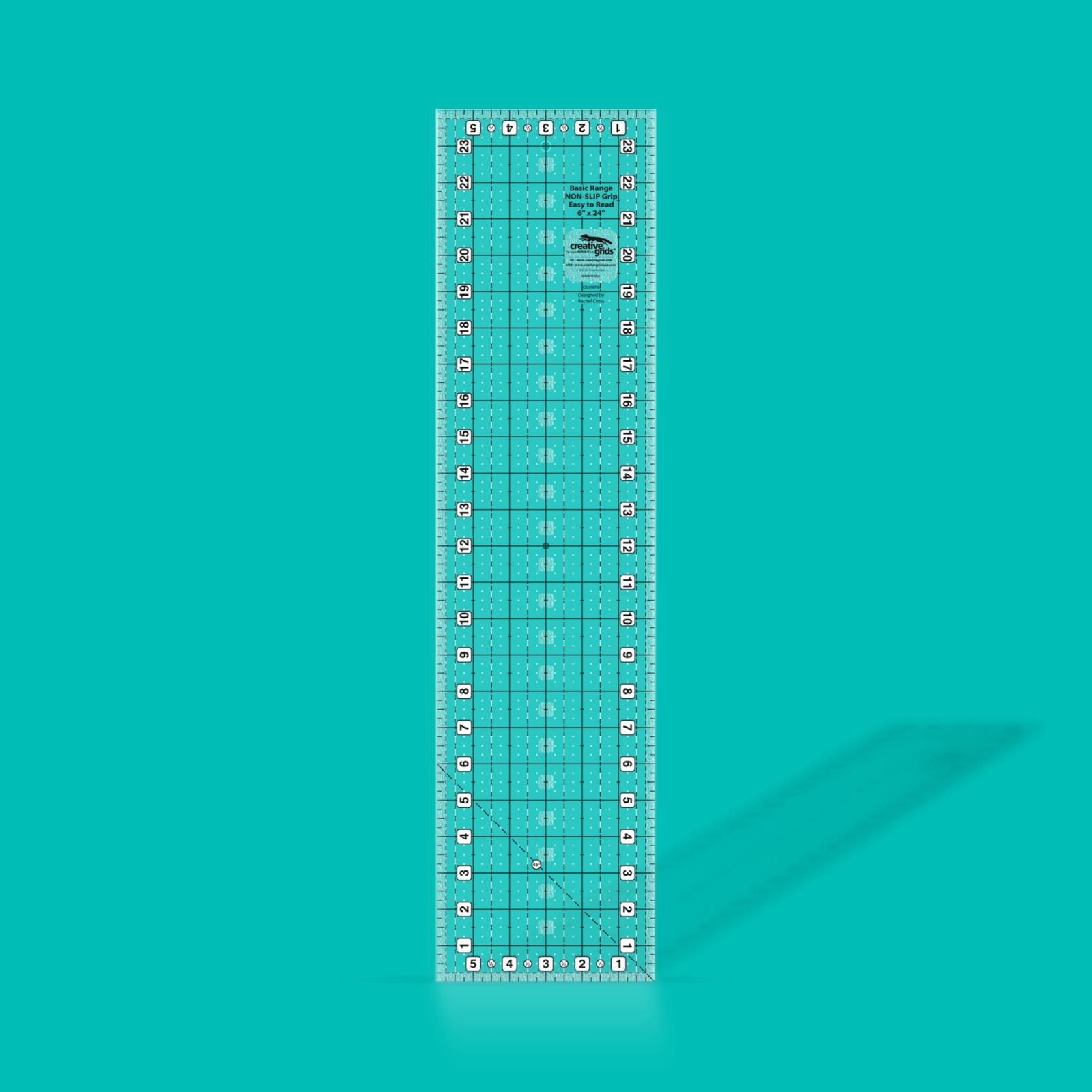Creative Grids Basic Range Ruler 6 x 24 | SKU# CGRBR6