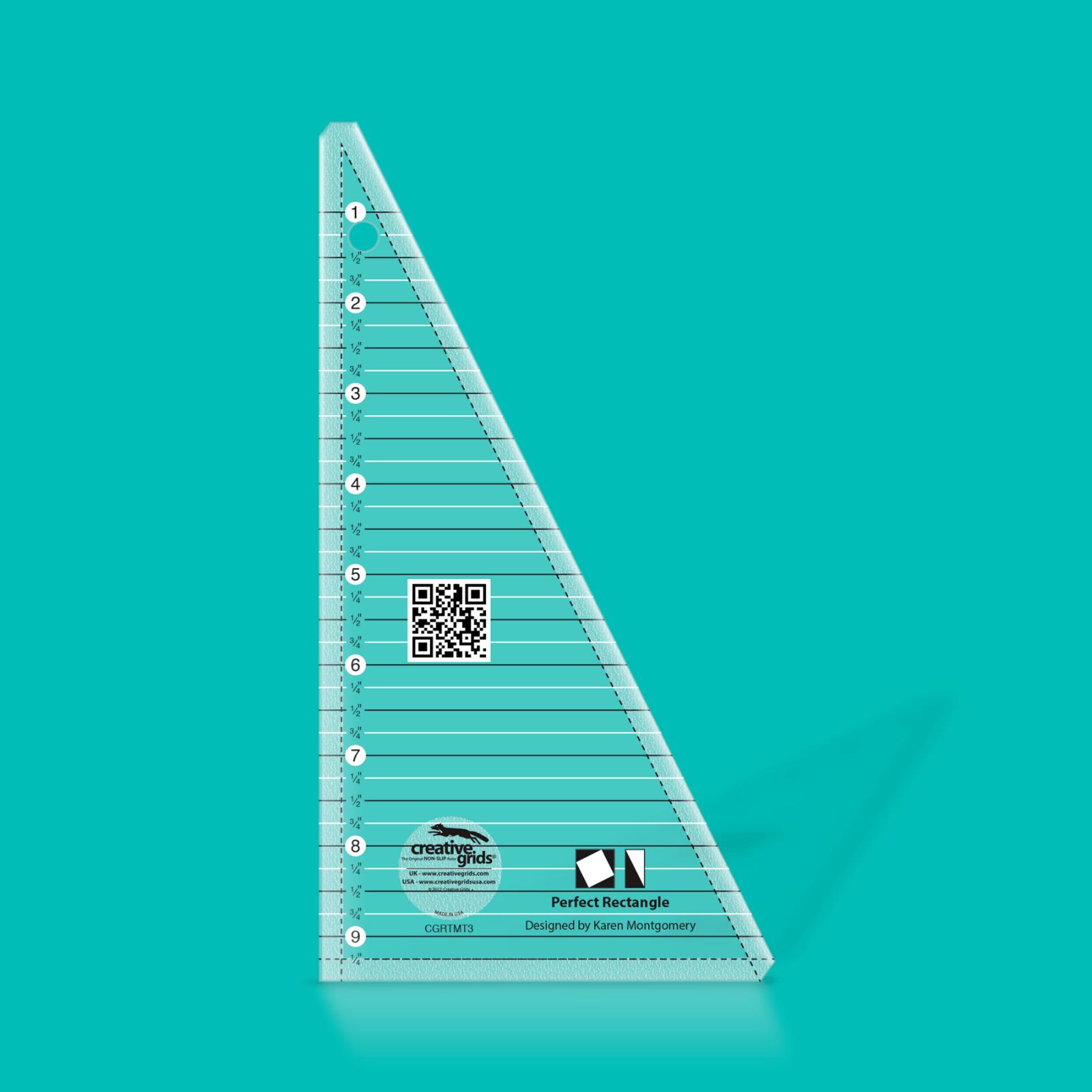 Creative Grids 9.5 Perfect Rectangle Ruler | SKU# CGRTMT3