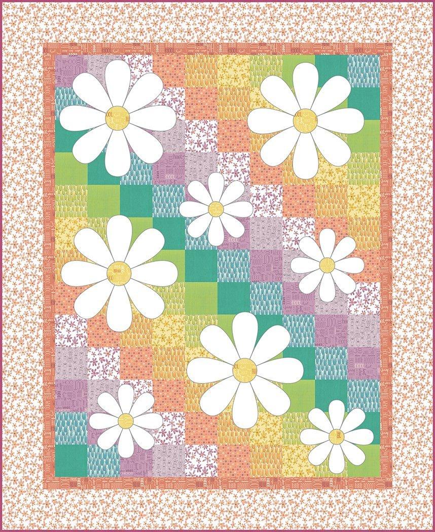 Daisy Doodle Quilt Pattern