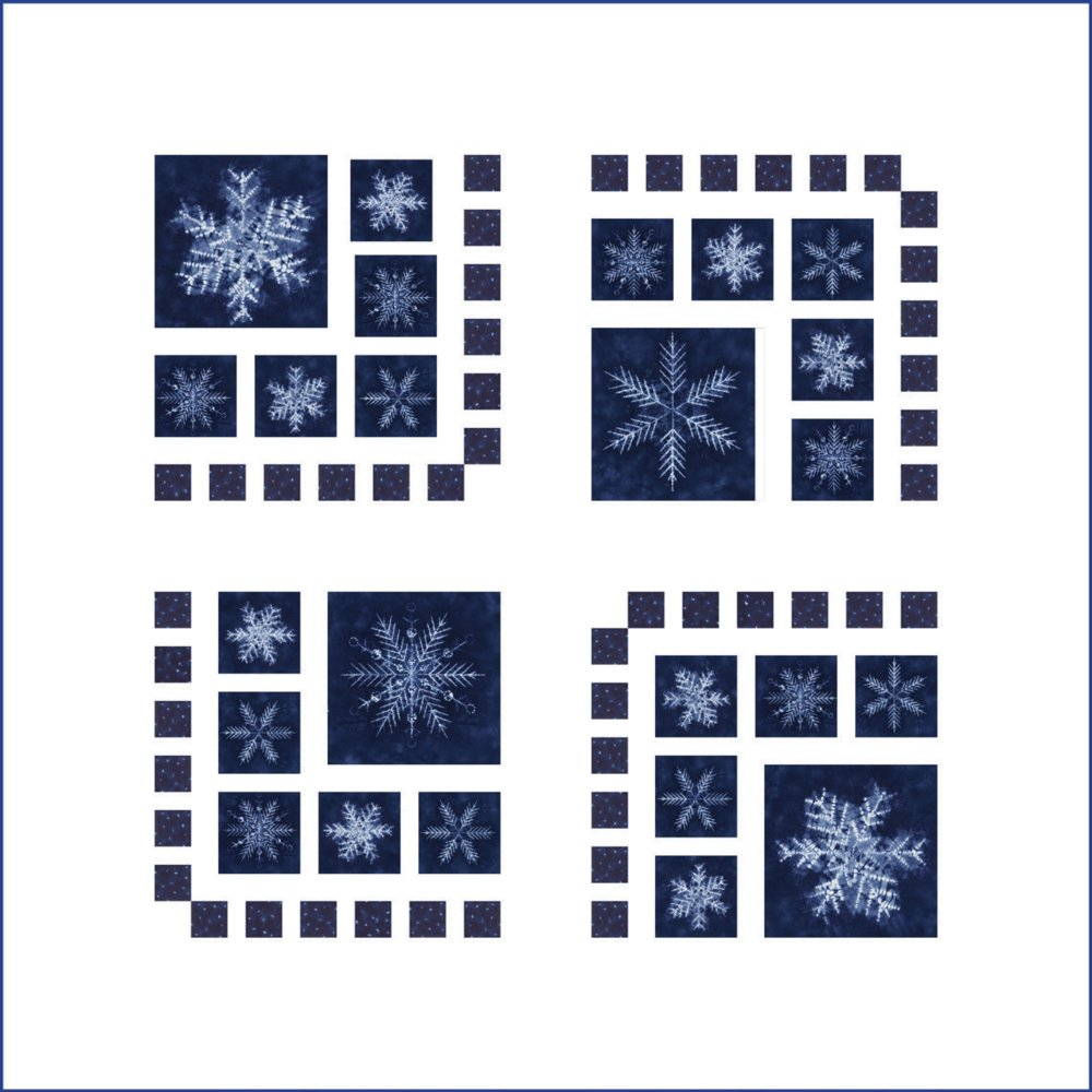 Frost on the Windows Quilt Kit (60 x 60)