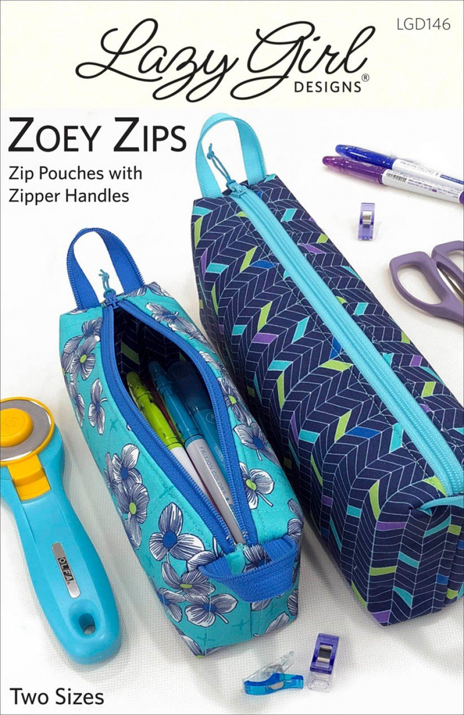 Zoey Zips Pouch Pattern