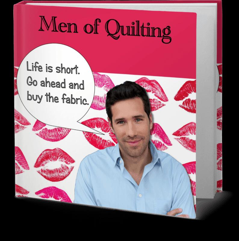 Men of Quilting Book