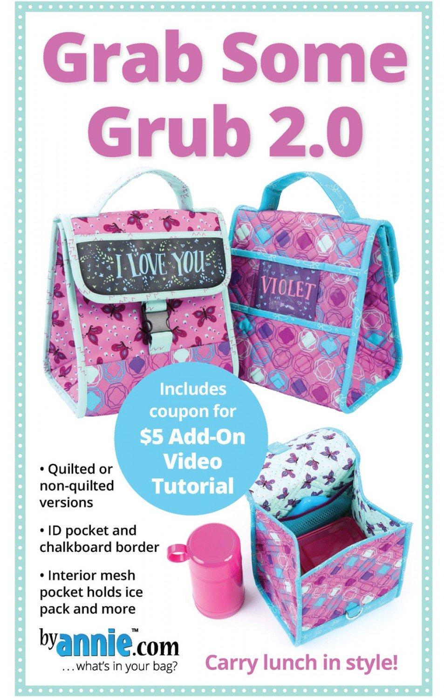 Grab Some Grub 2.0 Pattern