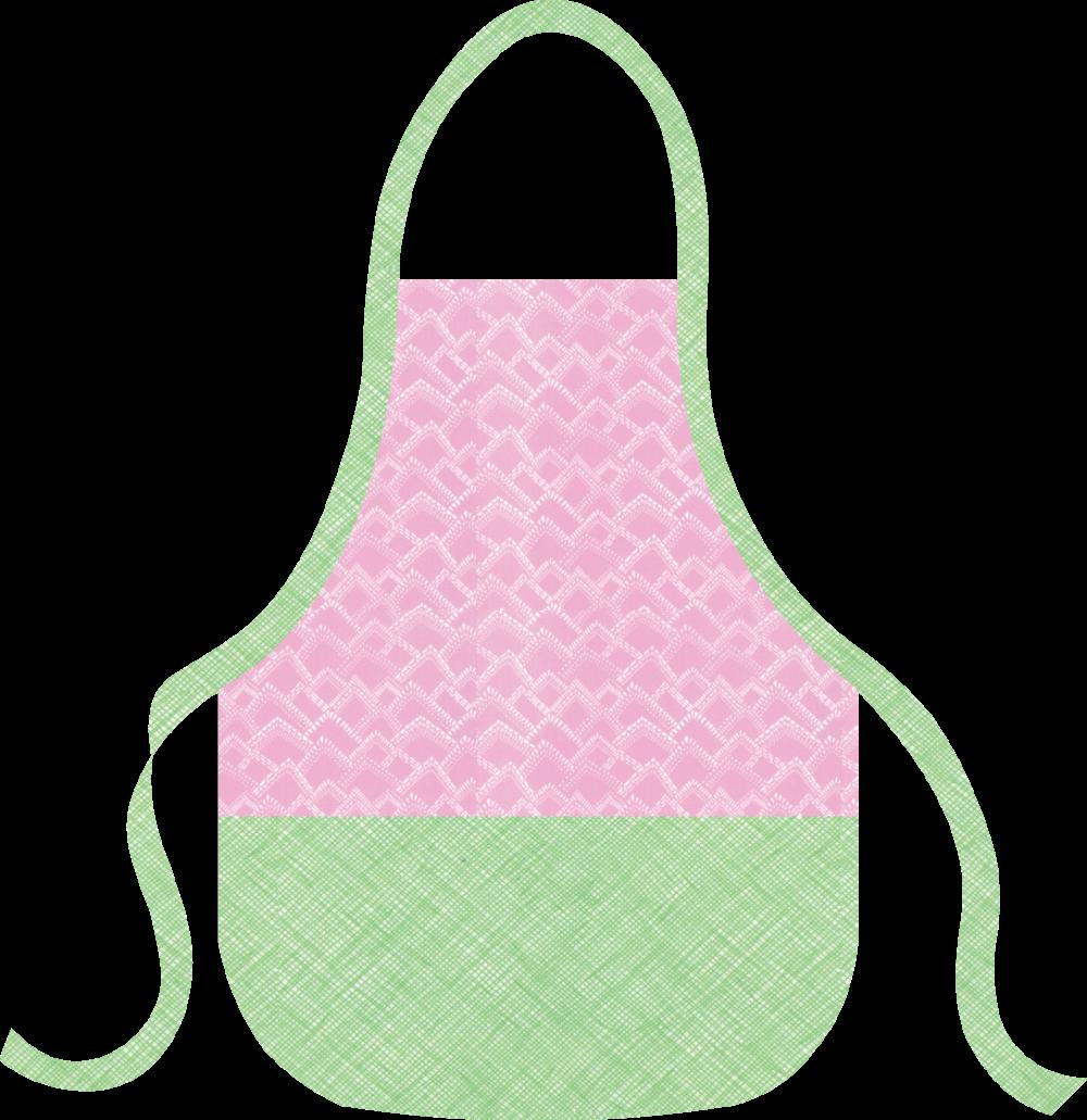 Basic Apron Kit - Pink & Green