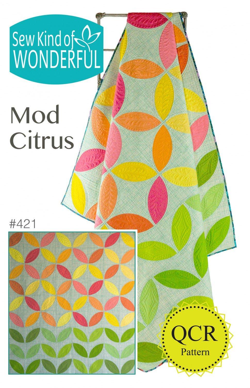 Mod Citrus Pattern