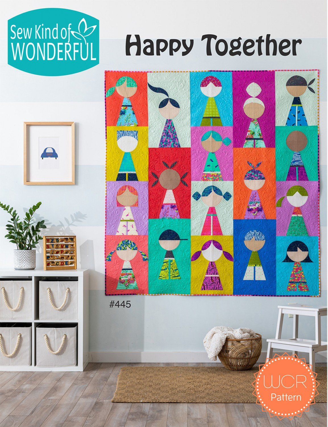 Happy Together Quilt Pattern | Sew Kind of Wonderful