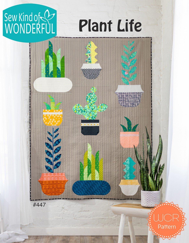 Plant Life Quilt Pattern | Sew Kind of Wonderful