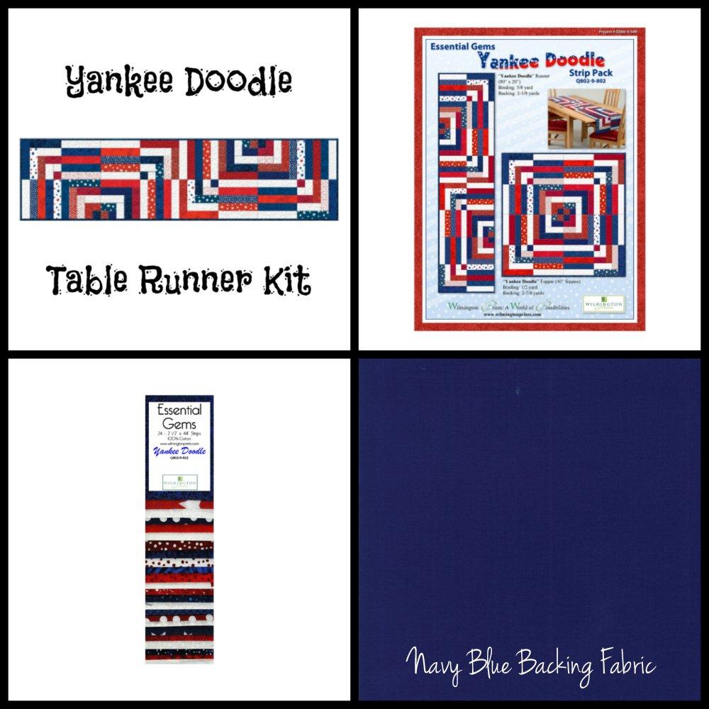 Yankee Doodle Table Runner Kit (80 x 20)
