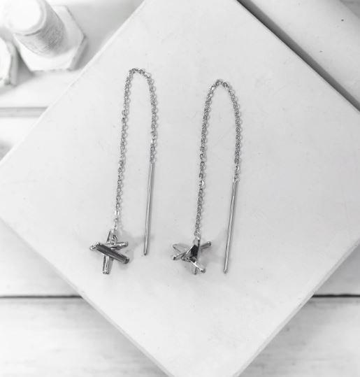Brass and Unity-Hedgehog Earrings