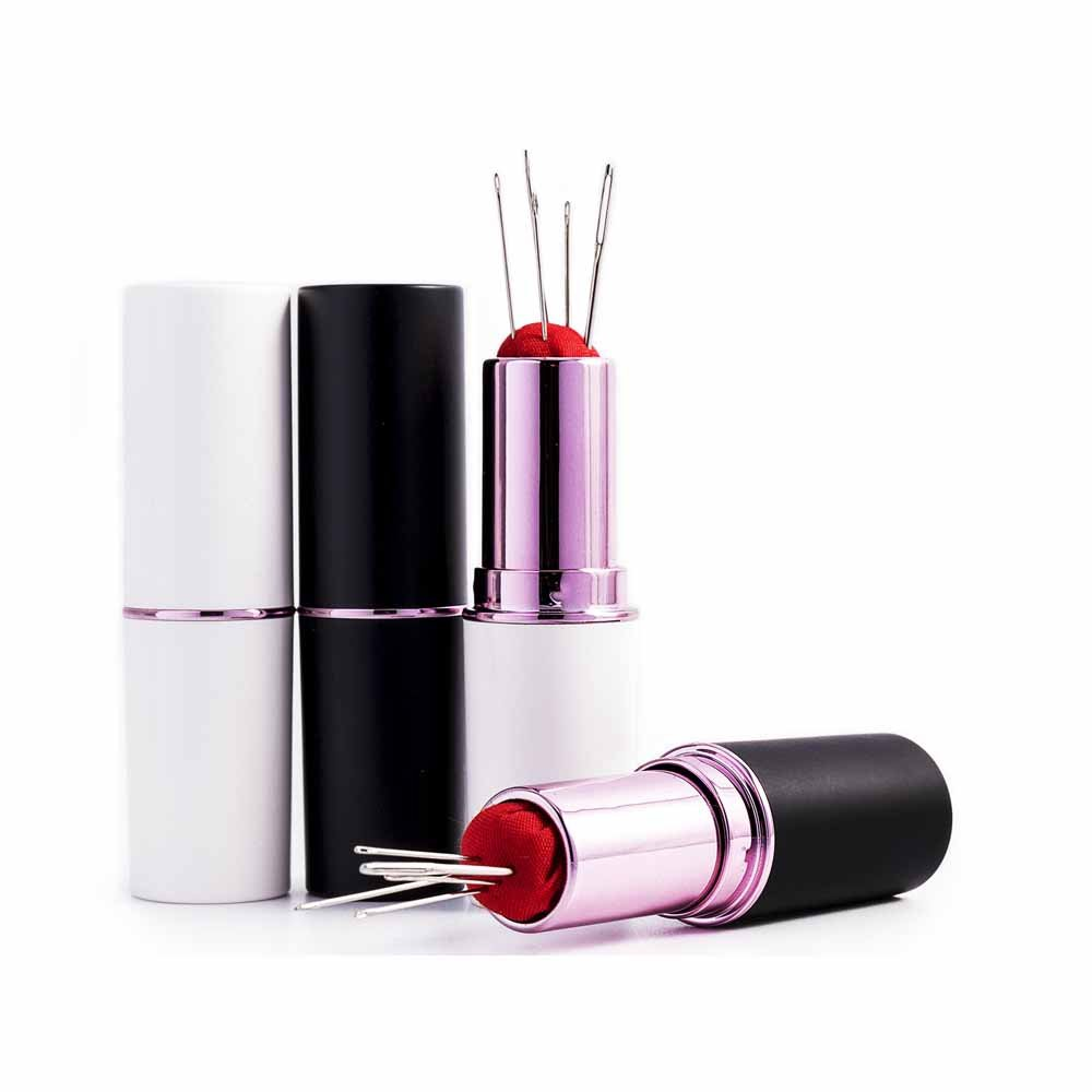 Black & White Lipstick Pin Case