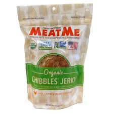 MeatMe Chibbles Chicken Jerky for Dogs 4-oz bag