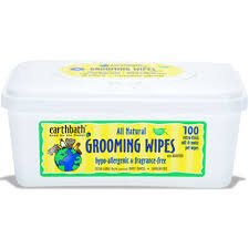 Earthbath Natural Pet Care - Hypo-Allergenic Grooming Wipes Fragrance Free