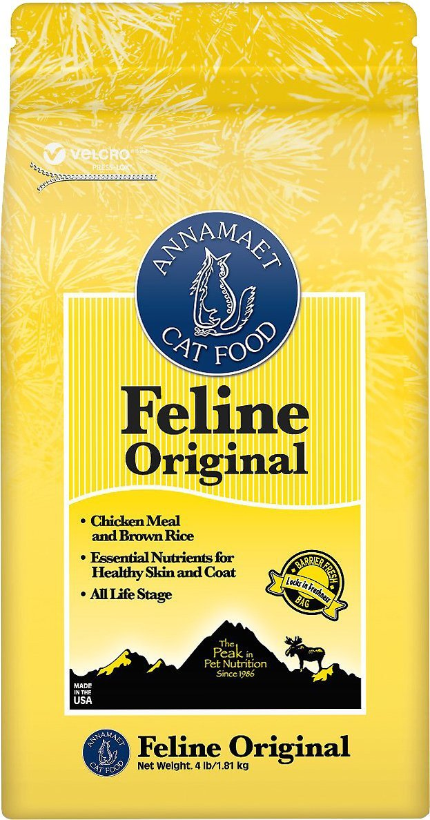 Annamaet Cat Food - Feline Original Chicken 4lbs
