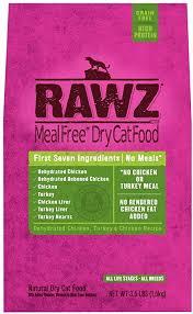 Rawz Cat Food Dehydrated - Turkey, Chicken Recipe 3.5lbs
