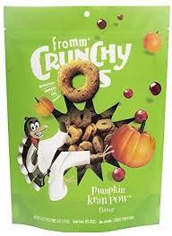Fromm Crunchy O's Pumpkin Kran Pow Flavor 6oz